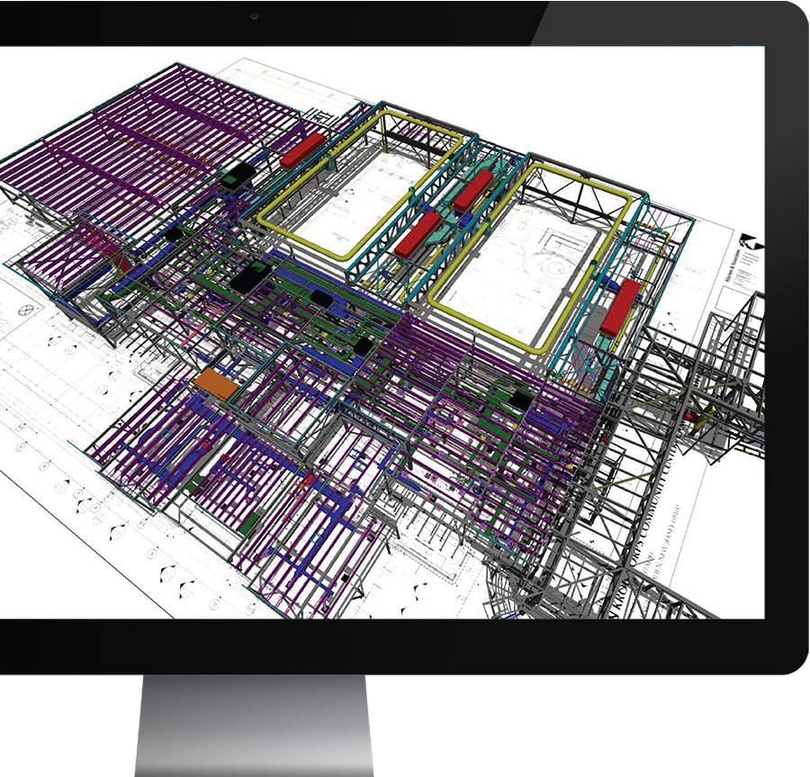BIM Model of The Camden Kroc Center